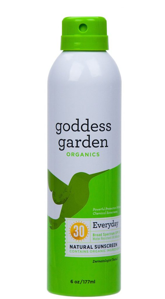 Goddess Garden sunscreen review - a goddess would use it