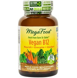 Vitamin B12 and vegans - How to get vitamin B12 - MegaFood Vegan B12