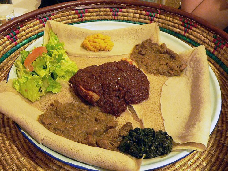 About teff - lilliputian but almighty grain (perfect for raw vegans) - injera