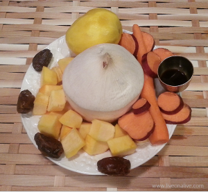 No-bake pumpkin pie pudding - ingredients