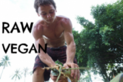 This coconut boy from Australia is raw vegan since birth - Buddy