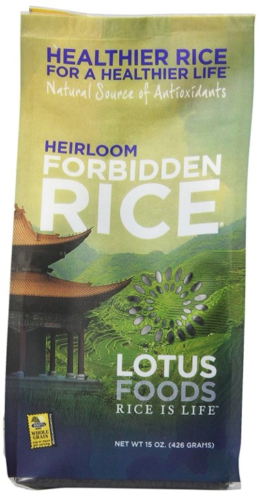 Raw rice recipe that tastes like cooked one - Lotus