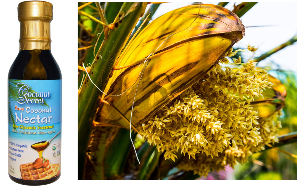 4 raw natural sweeteners and why you may want to limit them - raw coconut nectar