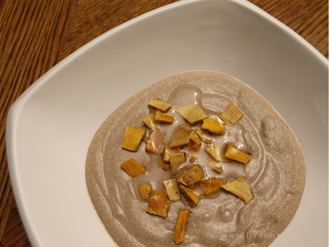 Raw, stamina-promoting porridge that will help you shed pounds