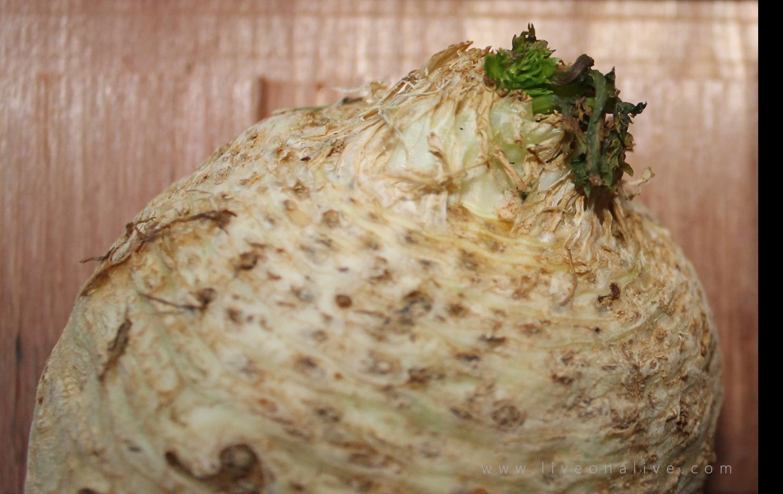 More celery root benefits (aka celeriac) for raw foodists